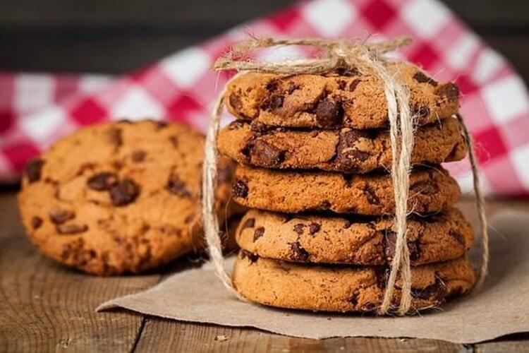 Çikolata parçalı kurabiye kakao kalmayınca bulunmuş