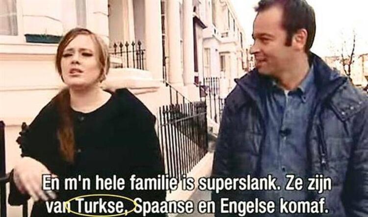 Yabancı olduklarını bildiğimiz ünlülerin bazılarının aslında Türk olduğunu biliyormuydunuz İşte size yabancı olduğunu sandığımız Türkler..Son günlerde gündemimizi meşgul eden konu Adelein Türk olduğunu açıklaması.