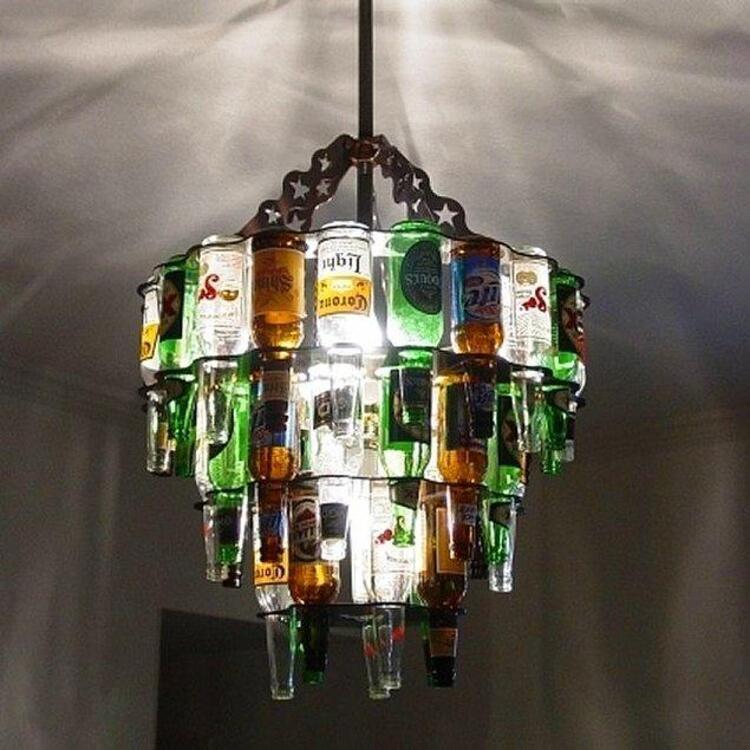 Evdeki boş cam şişeleri değerlendirmenin en minnoş hali...