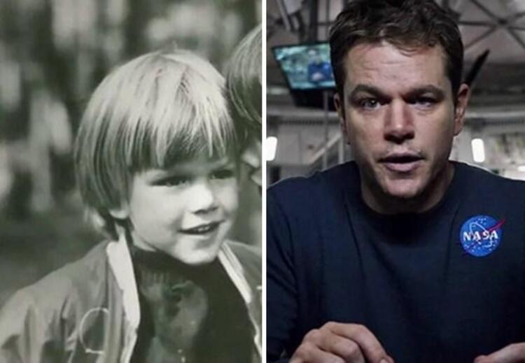 The Martian filmindeki rolüyle Matt Damon (En İyi Erkek Oyuncu)