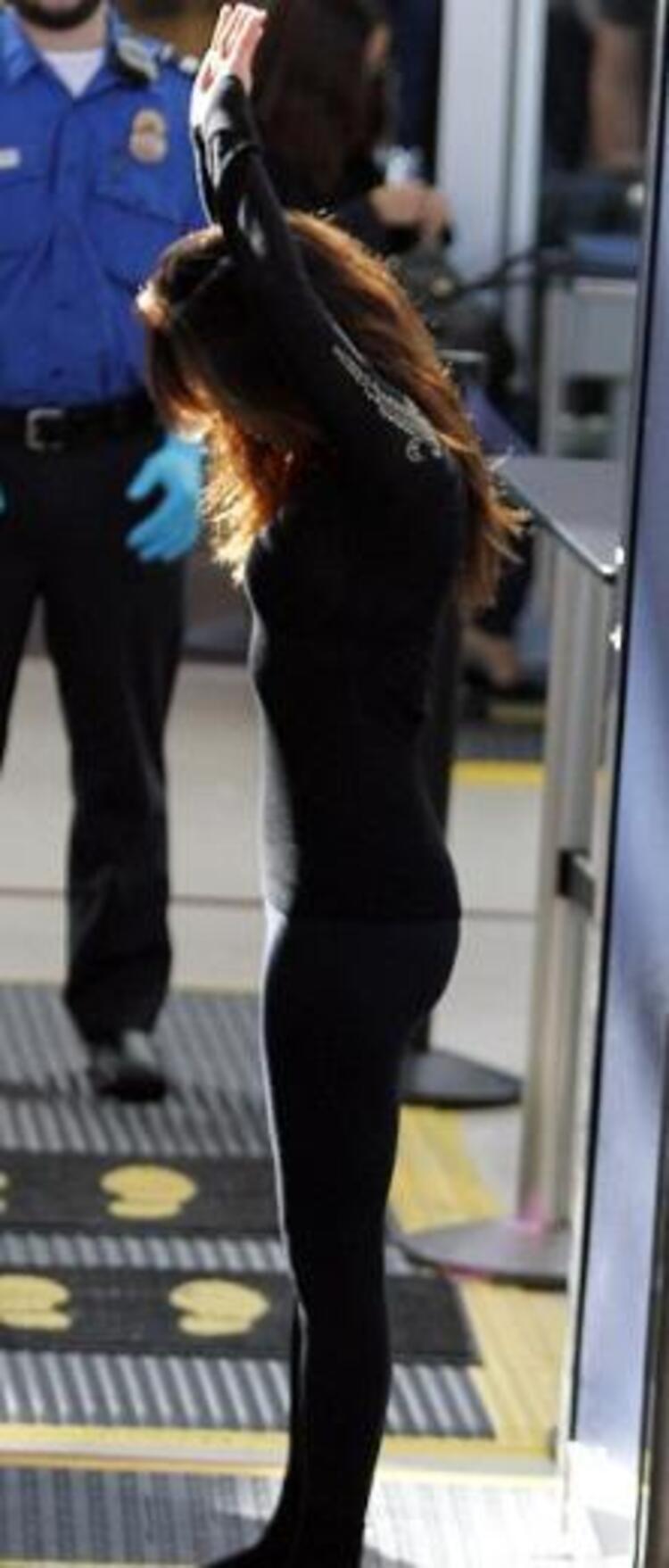 Eva Longoria hava alanında