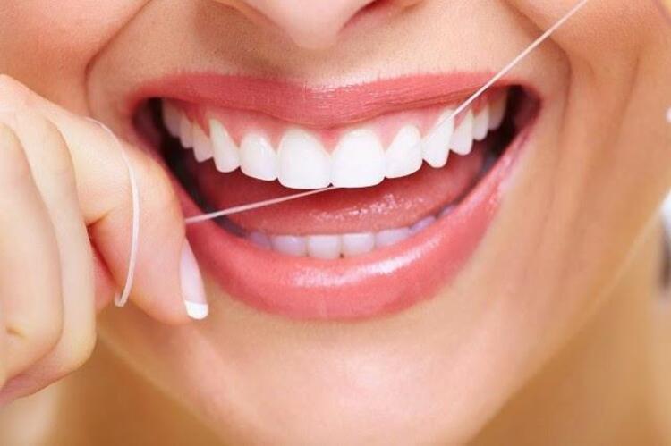 Diş ipliği kullanın