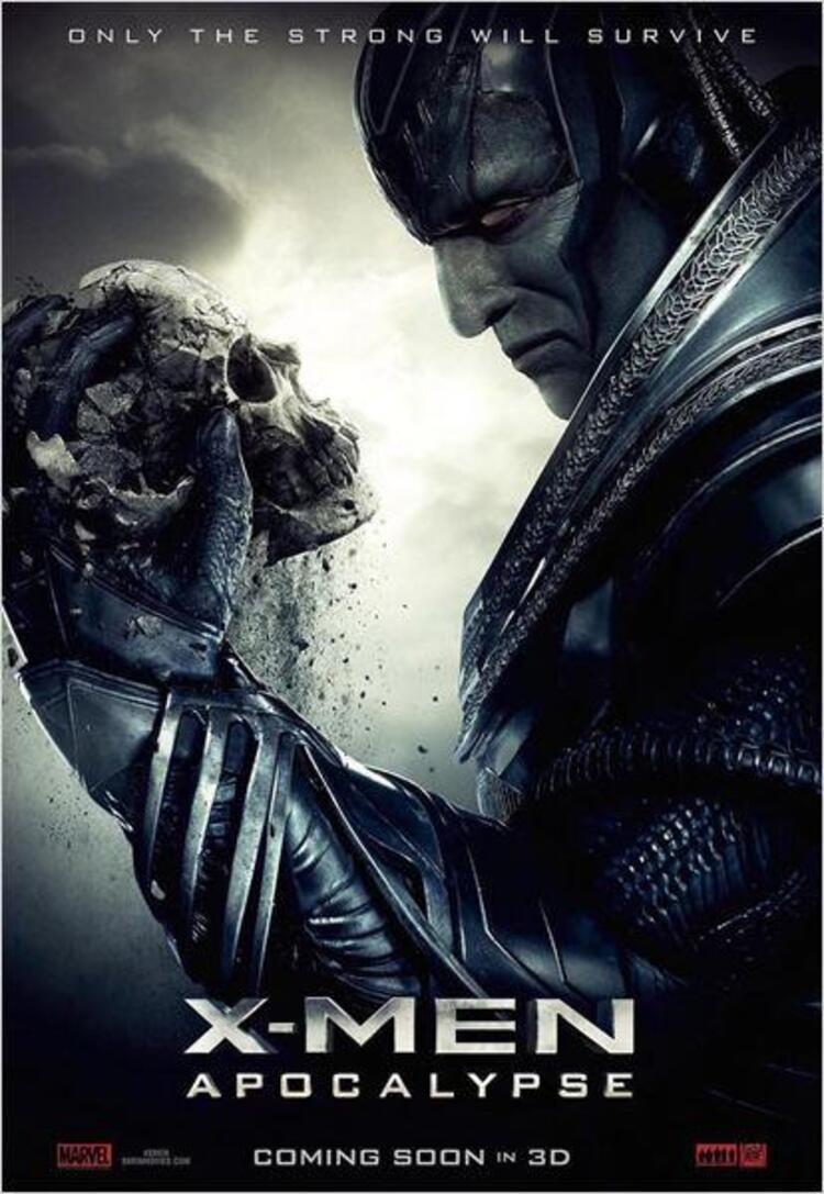 X-Men: Apocalypse (2016) Vizyon Tarihi: 19 Mayıs 2016