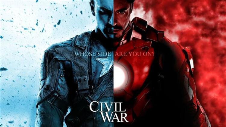 Kaptan Amerika: İç Savaş (2016) Vizyon Tarihi: 6 Mayıs 2016