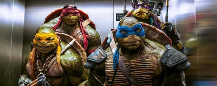 Ninja Kaplumbağalar 2: Gölgelerin İçinden (2016) Vizyon Tarihi: 3 Haziran 2016