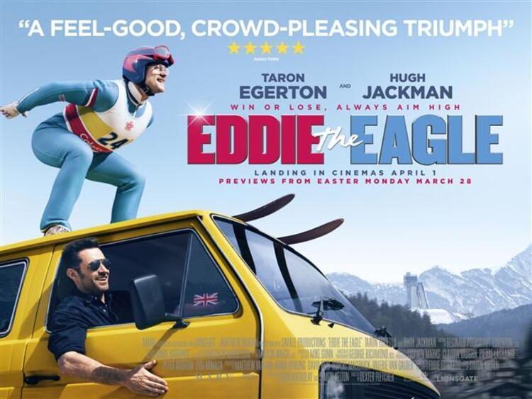Kartal Eddie (2016) Vizyon Tarihi: 1 Nisan 2016