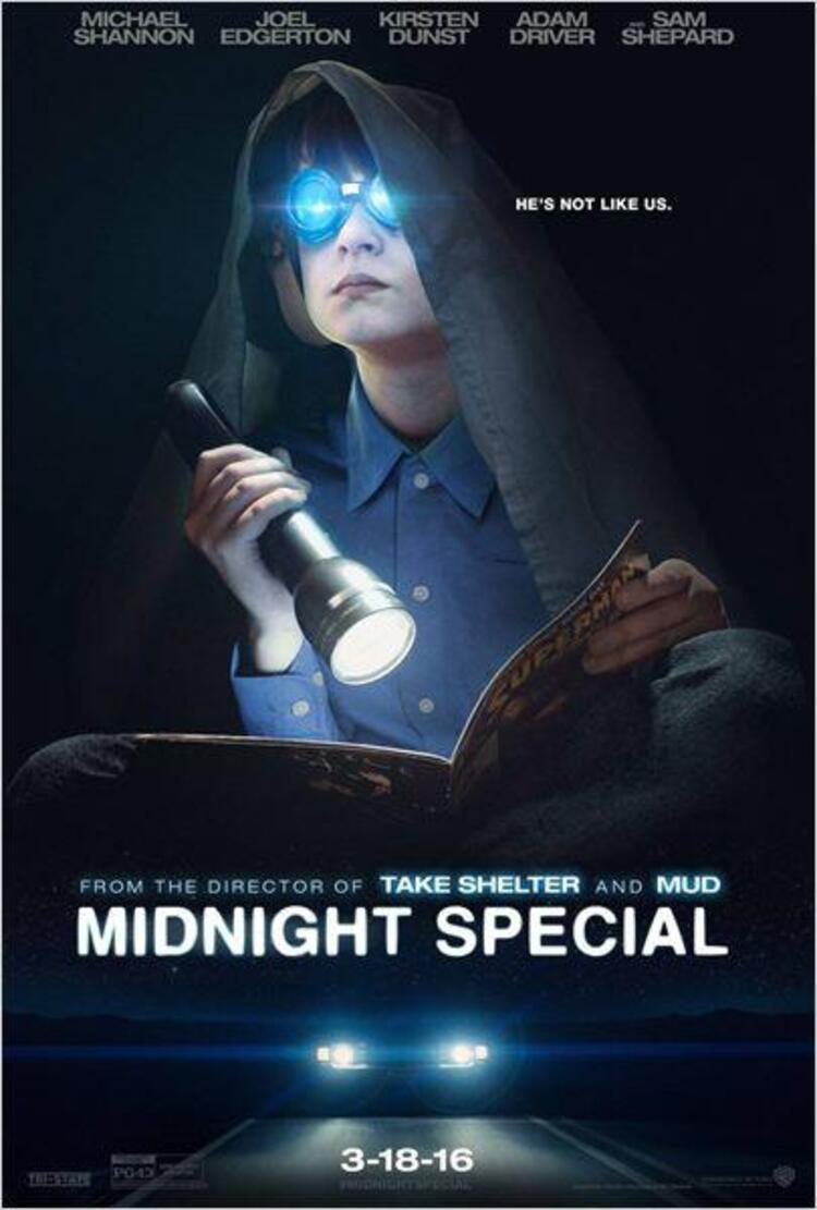 Midnight Special (2016) Vizyon Tarihi: 22 Nisan 2016