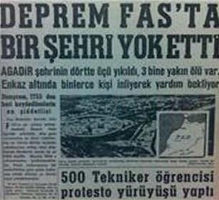 1960 - Fasta deprem: