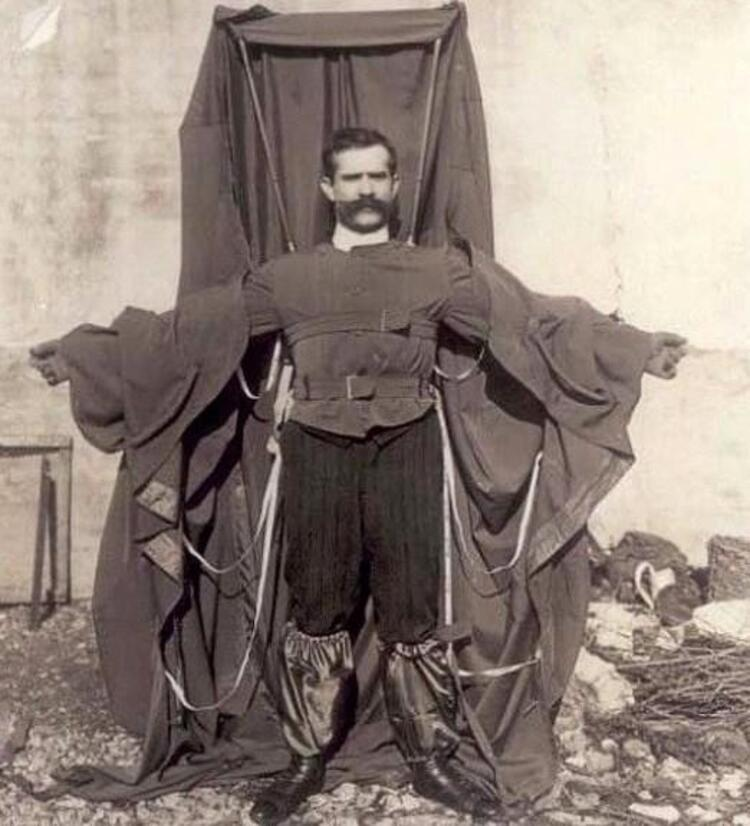 Paraşüt ceket: