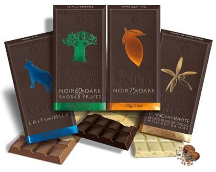 Chocolat Stella Baobab Meyveli Organik Çikolata