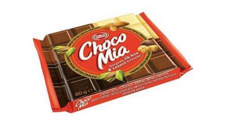 Şölen Choca Mia Antep Fıstıklı Bitter + Sütlü Çikolata