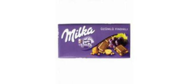Milka Üzümlü Fındıklı Sütlü Çikolata