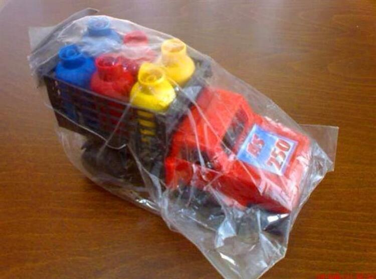 Meşhur ambalajlı tüp arabası