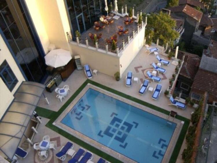 Euro Plaza Hotel Havuz İstanbul