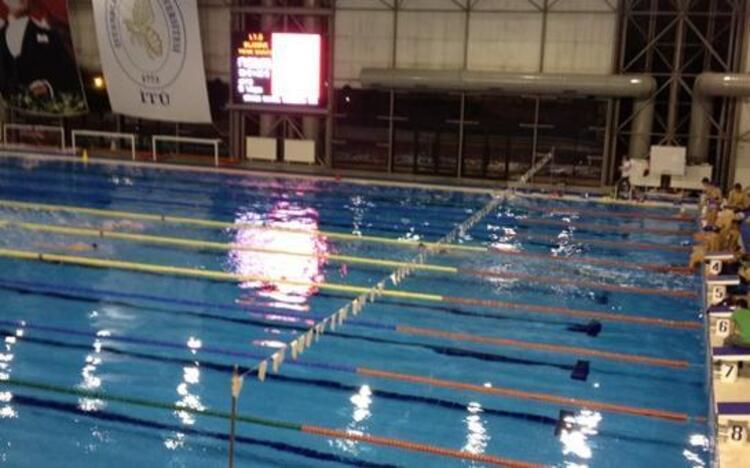 İTÜ Kapalı Olimpik Yüzme Havuzu İstanbul