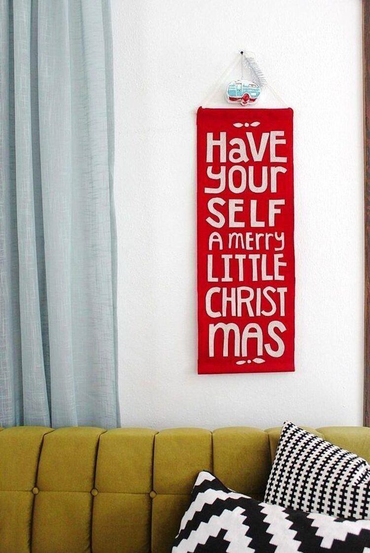 Yeni yılda size ilham verecek mesajlara duvarınızı açabilirsiniz.