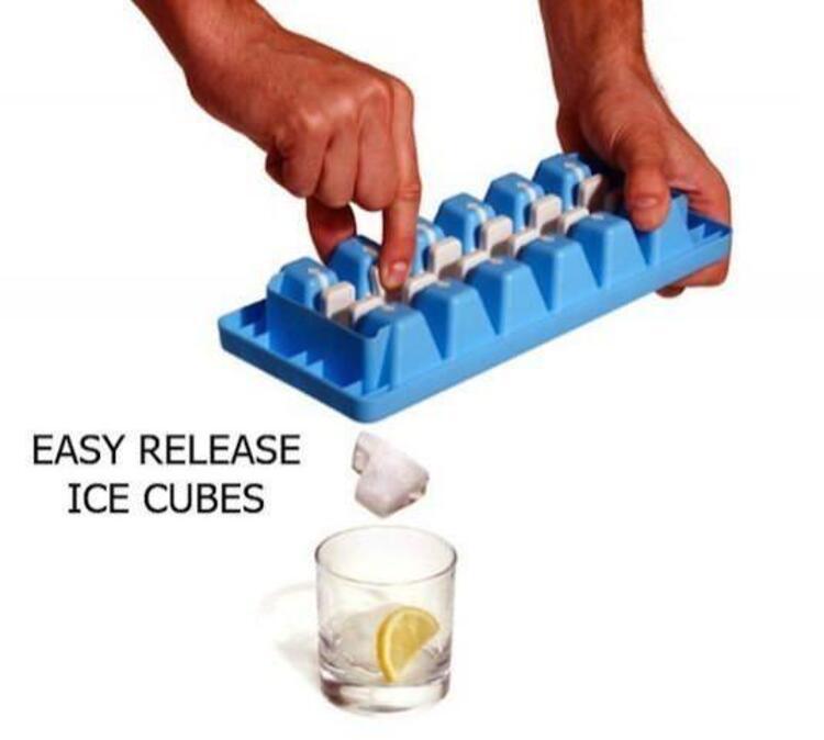 Çabuk Çıkartılan Buz Küpleri