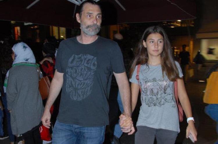 Erdal Beşikçioğlu ve kızı Derin