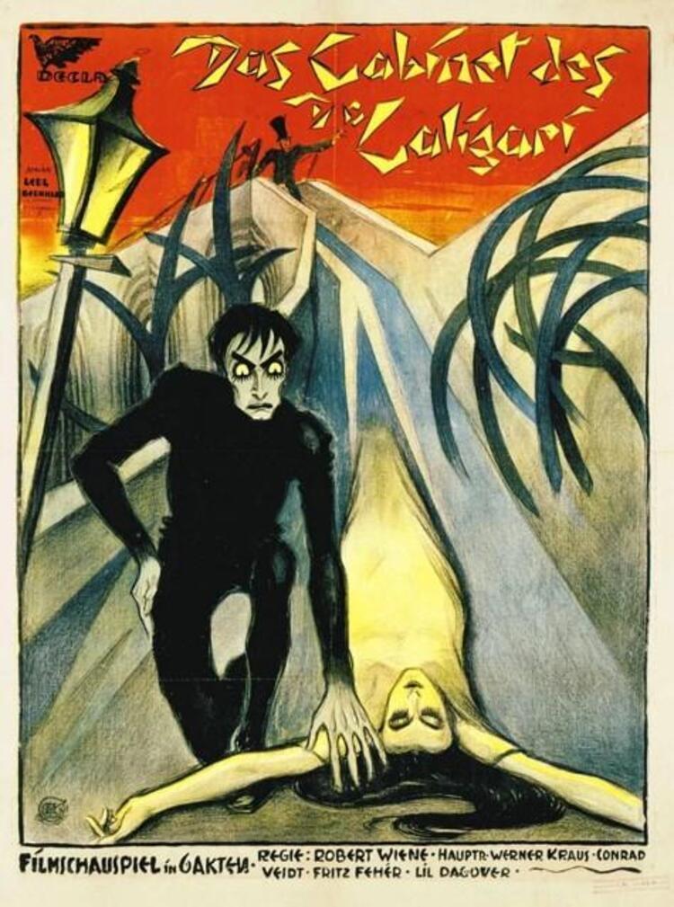The Cabinet of Dr. Caligari / Dr. Caligari'nin Muayenehanesi (1920)
