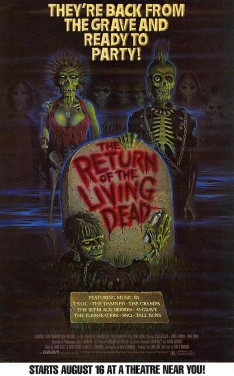 The Return of the Living Dead / Yaşayan Ölülerin Dönüşü (1985)