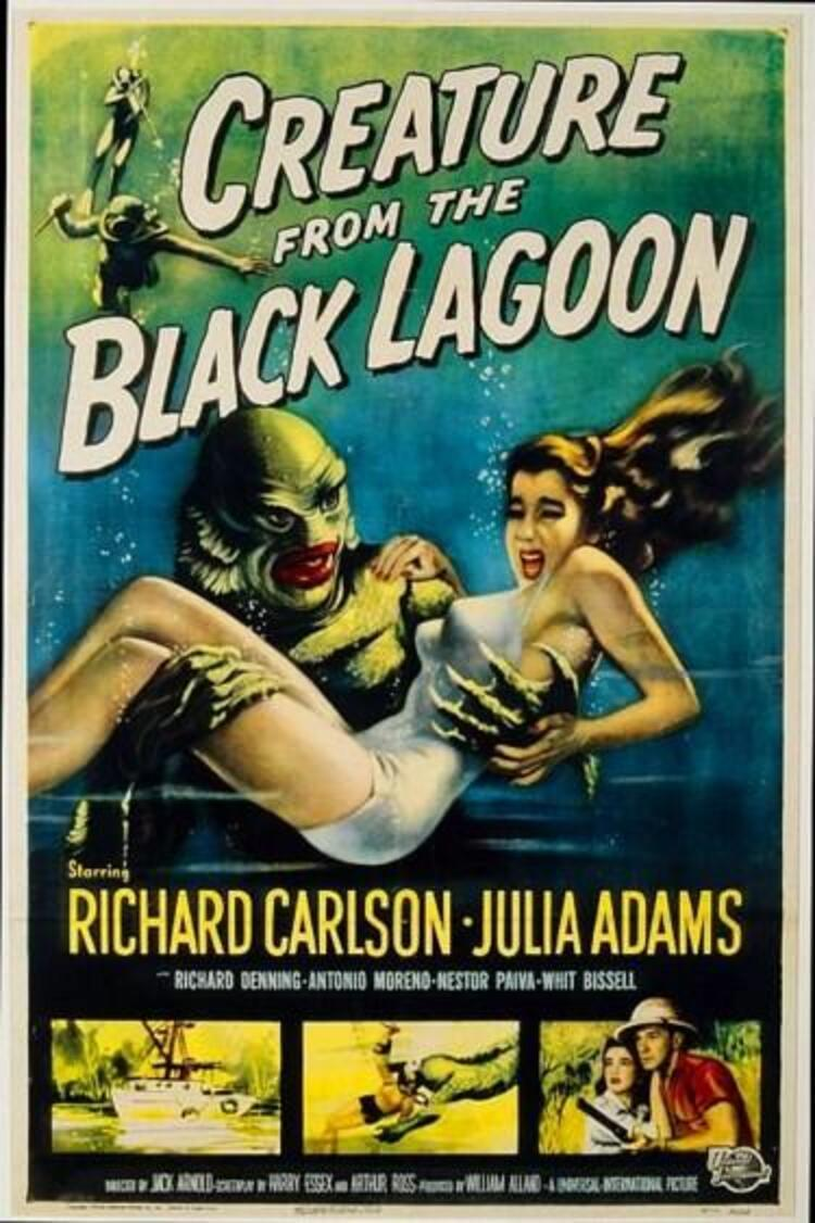 Creature from the Black Lagoon / Kara Gölün Canavarı (1954)