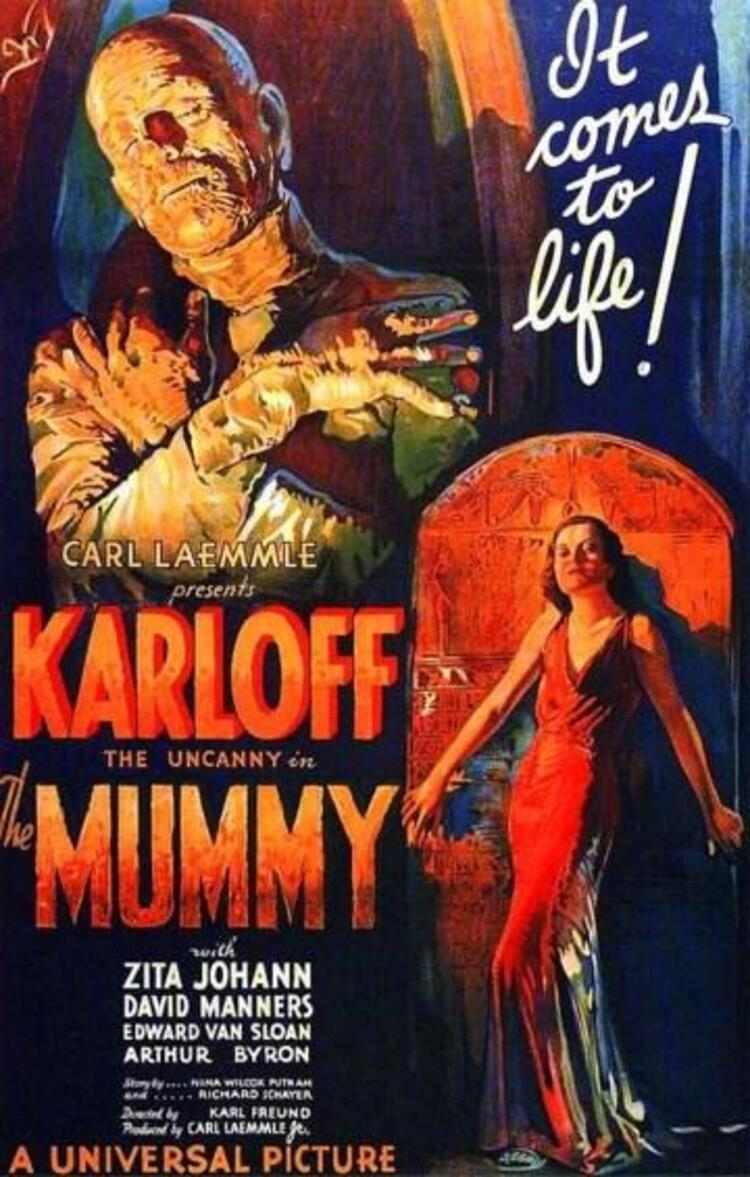The Mummy / Ölmeyen Mumya (1932)