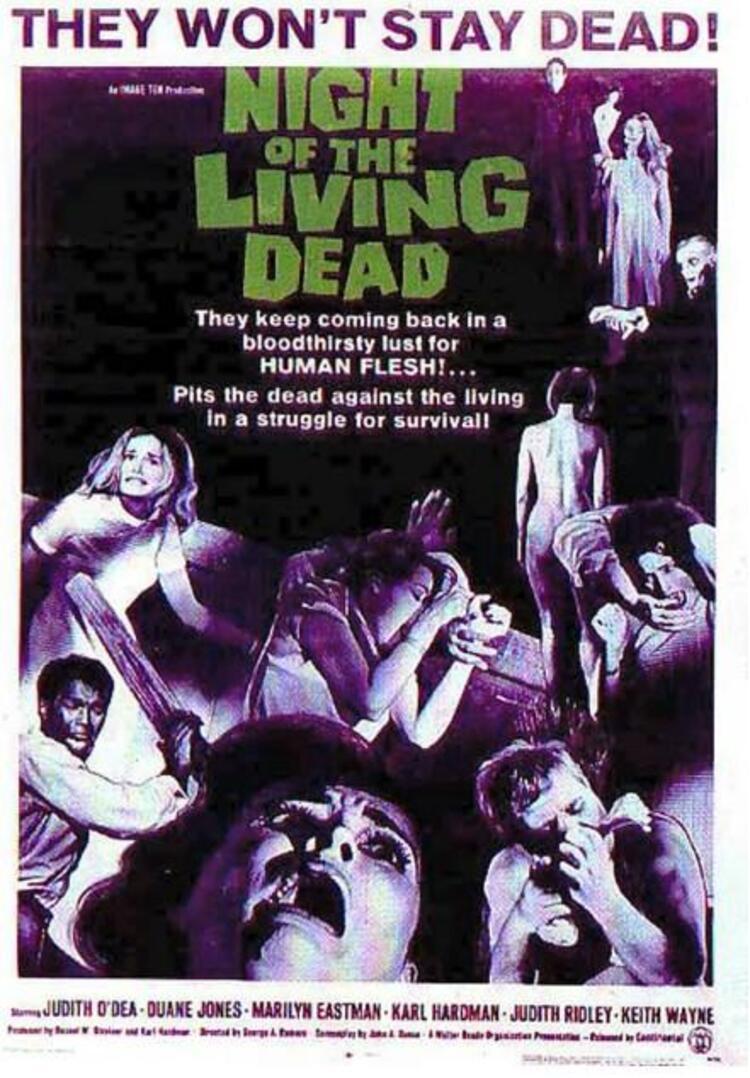 Night of the Living Dead / Yaşayan Ölülerin Gecesi (1968)