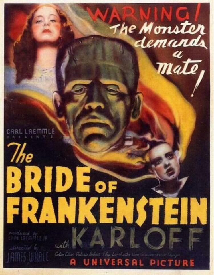 Bride of Frankenstein / Frankenstein'ın Gelini (1935)