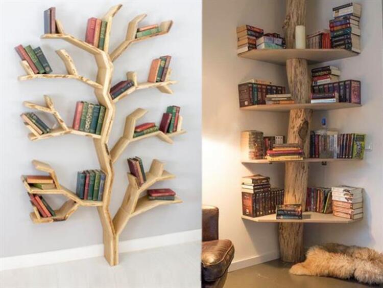 Kitaplıklar dekorasyondan öte bir eve karakter ve stil katan en önemli parçalardandır. Kişiliğinizi yansıtacak farklı bir tasarım ile evinizin havasını anında değiştirebilirsiniz.Kalıpları yıkan ve ezber bozan tasarımlardan hoşlanıyorsanız sizin için bir araya getirdiğimiz kitaplık modellerine bayılacaksınızKaynak Fotoğraflar: Pinterest