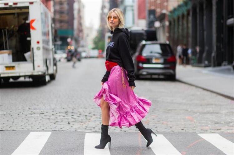 2017 New York Moda Haftasına  Damga Vuran Sokak Stilleri