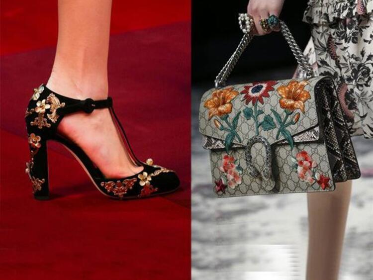 Trend Alarmı: İşlemeli Çanta ve Ayakkabılar