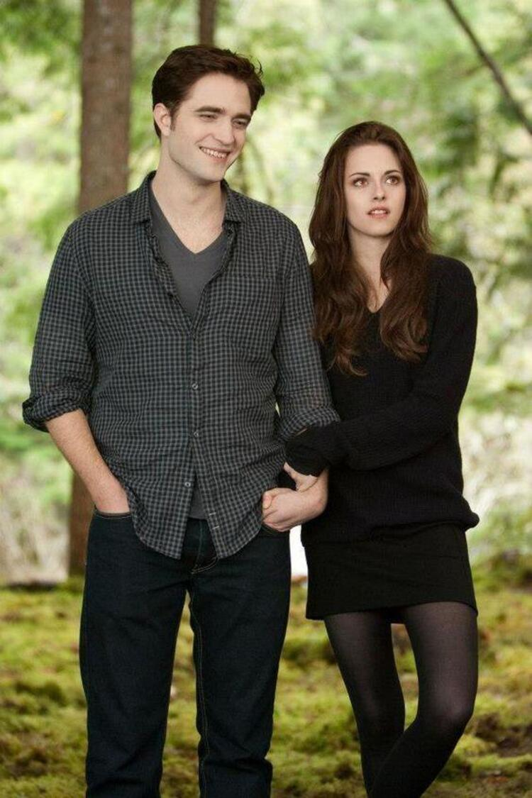Robert Pattinson ve Kristen Stewart