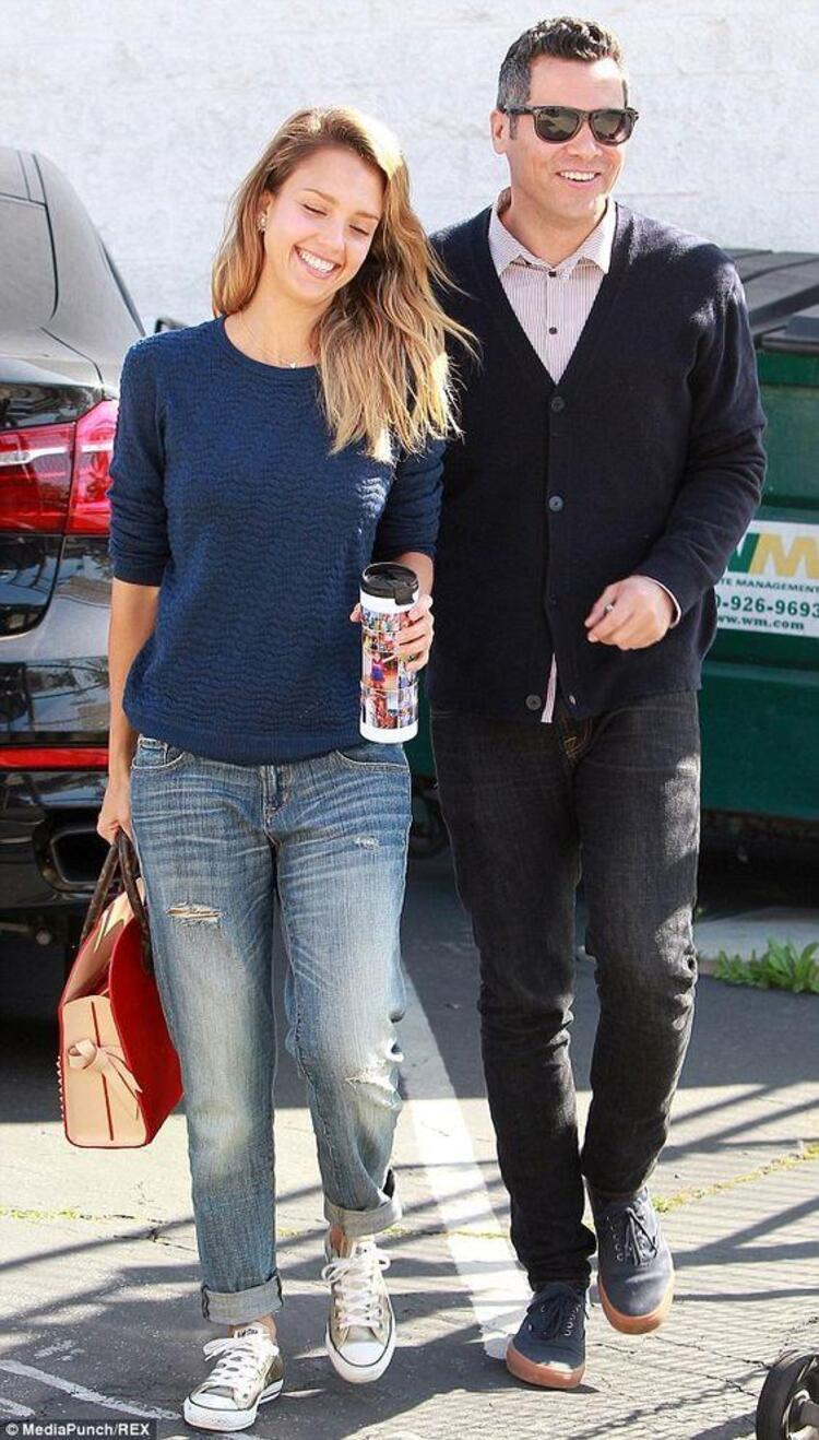 Jessica Alba & Cash Warren