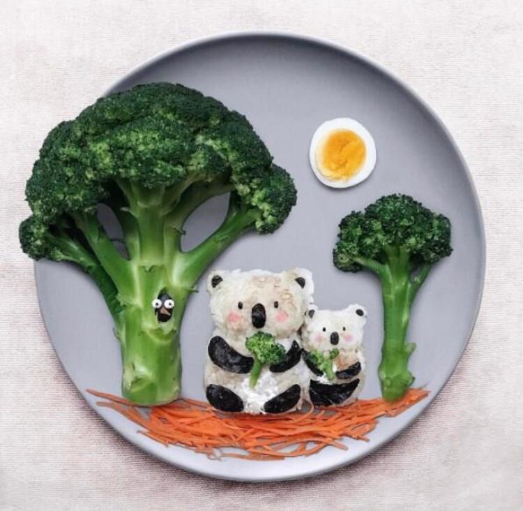 İşte Daryna Kossarın sanat eseri niteliğindeki muhteşem tabakları...
