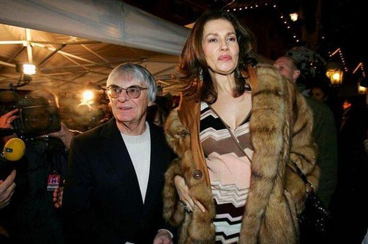 Bernie Ecclestone ve Slavica Ecclestone – 1.2 Milyar $