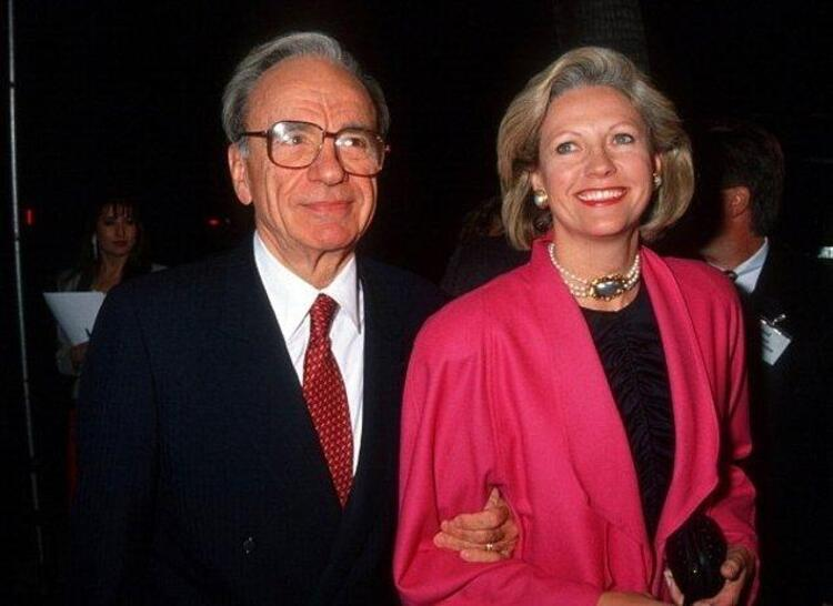 Rupert Murdoch ve Anna Maria Torv – 1.7 Milyar $