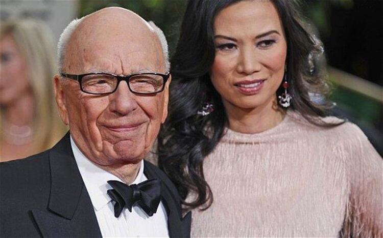 Rupert Murdoch ve Wendi Deng – 1.8 Milyar $