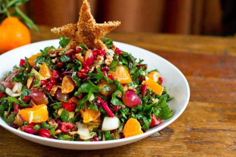 Renkli Yılbaşı Salatası