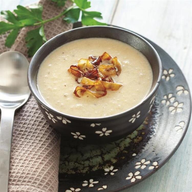 Karamelize Soğanlı Patates Çorbası