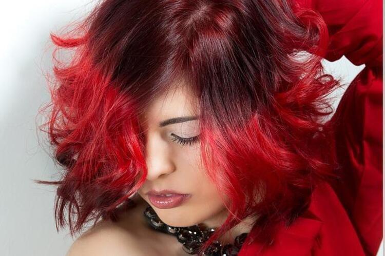 Mevsim geçişleri saç rengi değiştirmek için ideal