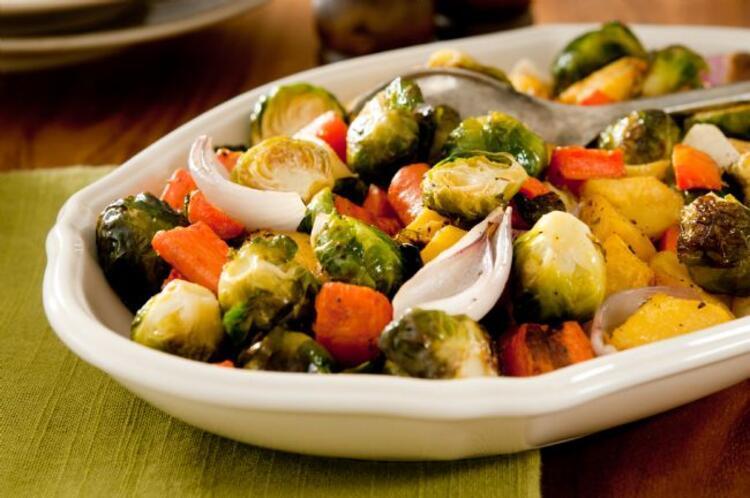 Zeytinyağlı brüksel brokoli tarifi