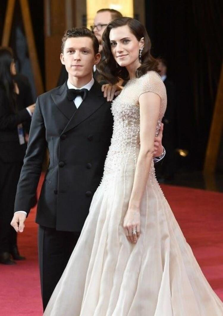 Tom Holland ve Allison Williams