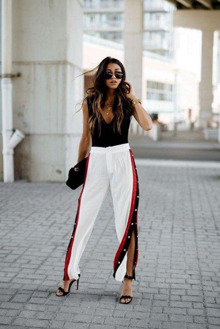 Eşofman Detaylı Pantolonlar