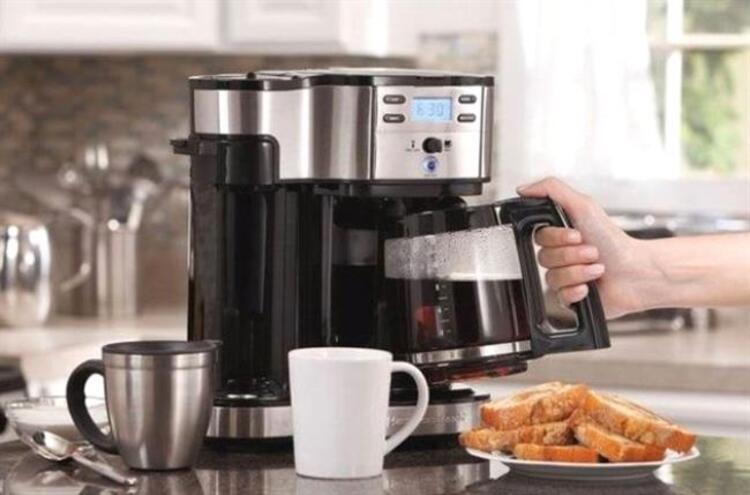 Kahve makinesini temizlemek için