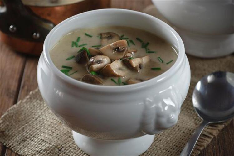 Mantar çorbasının faydaları: