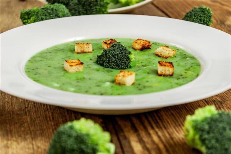 Brokoli çorbasının faydaları: