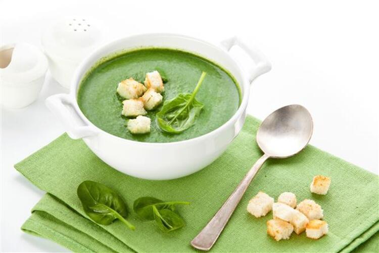 Ispanak çorbasının faydaları: