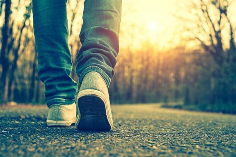 Yürüyüş yapın