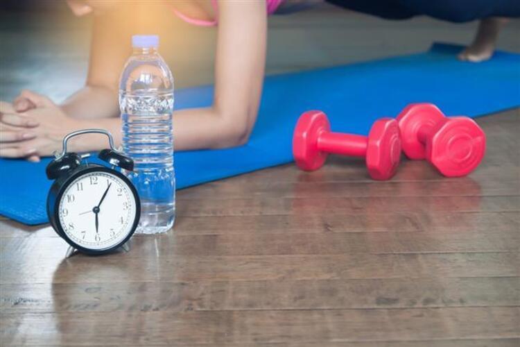 Egzersizin süresi: