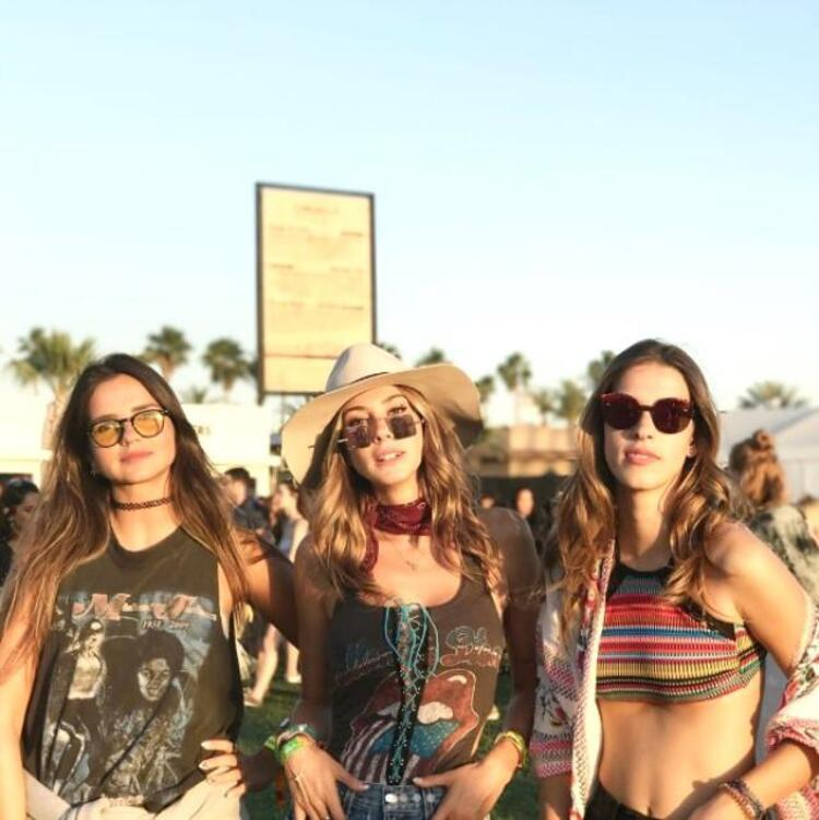 İşte geçen yıl ki Coachella festivalinden kareler...